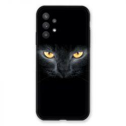 Coque Pour Samsung Galaxy A32 Chat Noir