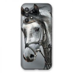 Coque Pour Samsung Galaxy A32 Cheval Blanc