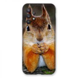 Coque Pour Samsung Galaxy A32 Ecureuil Face