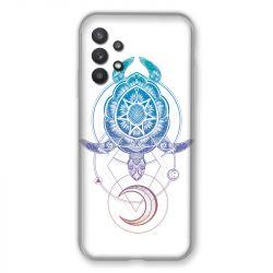 Coque Pour Samsung Galaxy A32 Animaux Maori Tortue Color