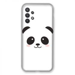 Coque Pour Samsung Galaxy A32 Panda Blanc