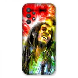 Coque Pour Samsung Galaxy A32 Bob Marley Color