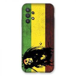 Coque Pour Samsung Galaxy A32 Bob Marley Drapeau