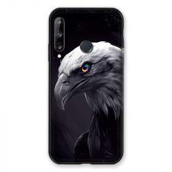 Coque Pour Huawei P40 Lite E Aigle Royal Noir