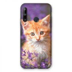 Coque Pour Huawei P40 Lite E Chat Violet