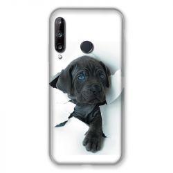 Coque Pour Huawei P40 Lite E Chien Noir