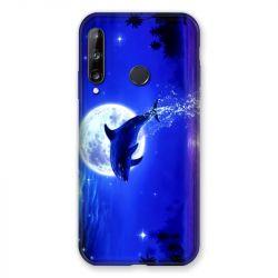 Coque Pour Huawei P40 Lite E Dauphin Lune