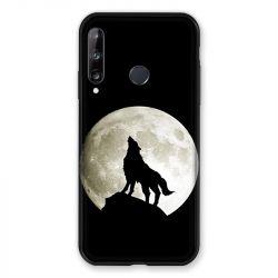 Coque Pour Huawei P40 Lite E Loup Noir