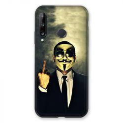 Coque Pour Huawei P40 Lite E Anonymous Doigt