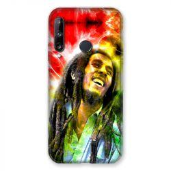 Coque Pour Huawei P40 Lite E Bob Marley Color