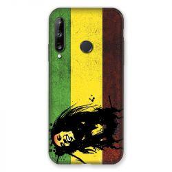 Coque Pour Huawei P40 Lite E Bob Marley Drapeau