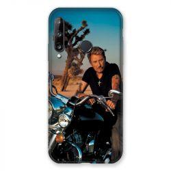 Coque Pour Huawei P40 Lite E Johnny Hallyday Moto