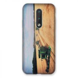 Coque Pour Nokia 2.4 Agriculture Moissonneuse