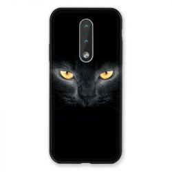 Coque Pour Nokia 2.4 Chat Noir