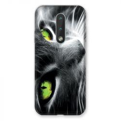 Coque Pour Nokia 2.4 Chat Vert