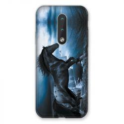 Coque Pour Nokia 2.4 Cheval Noir