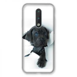 Coque Pour Nokia 2.4 Chien Noir