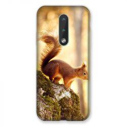 Coque Pour Nokia 2.4 Ecureuil Bois