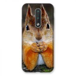 Coque Pour Nokia 2.4 Ecureuil Face
