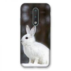 Coque Pour Nokia 2.4 Lapin Blanc