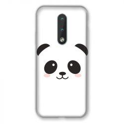 Coque Pour Nokia 2.4 Panda Blanc