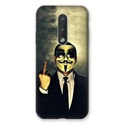 Coque Pour Nokia 2.4 Anonymous Doigt