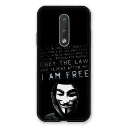 Coque Pour Nokia 2.4 Anonymous I am free