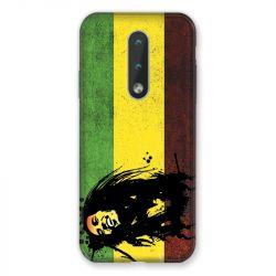 Coque Pour Nokia 2.4 Bob Marley Drapeau