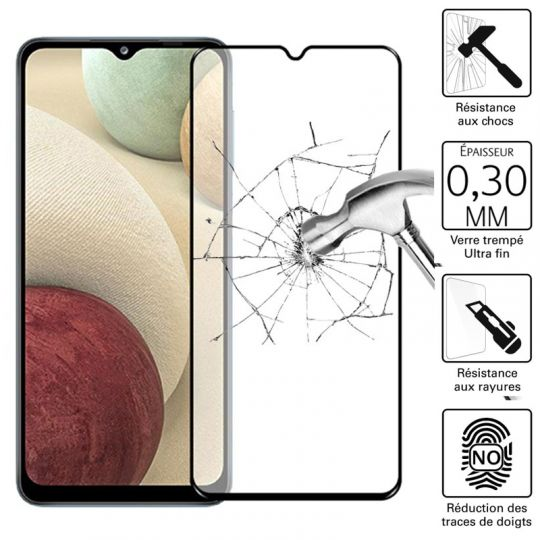 Vitre protection / Verre trempé pour Samsung Galaxy A12