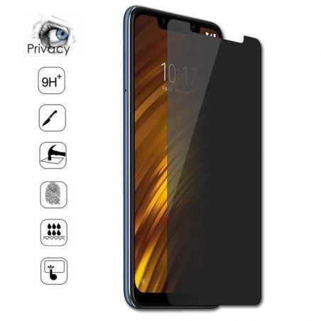 Verre trempé / Vitre de protection privée anti espion pour Samsung Galaxy A12