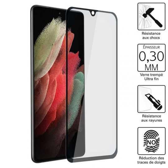 Vitre protection / Verre trempé pour Samsung Galaxy S21