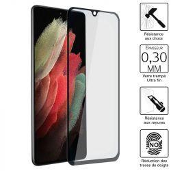 Vitre protection / Verre trempé 3D pour Samsung Galaxy S21 Ultra