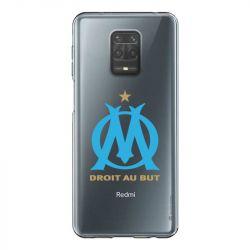Coque Transparente Pour Xiaomi Redmi Note 9 Olympique Marseille OM