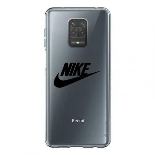 Coque Transparente Pour Xiaomi Redmi Note 9 Nike