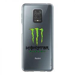 Coque Transparente Pour Xiaomi Redmi Note 9 Monster Energy