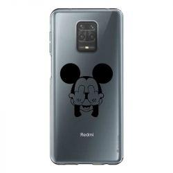 Coque Transparente Pour Xiaomi Redmi Note 9 Mickey doigt