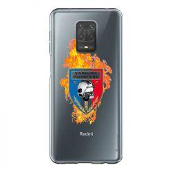 Coque Transparente Pour Xiaomi Redmi Note 9 Pompier Feu