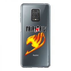 Coque Transparente Pour Xiaomi Redmi Note 9 Fairy Tail