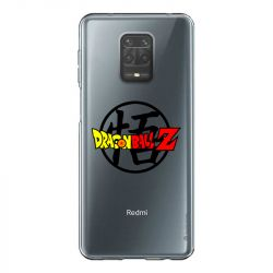 Coque Transparente Pour Xiaomi Redmi Note 9 Dragon Ball Logo