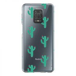 Coque Transparente Pour Xiaomi Redmi Note 9 Cactus