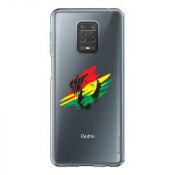 Coque Transparente Pour Xiaomi Redmi Note 9 Bob Marley Graf
