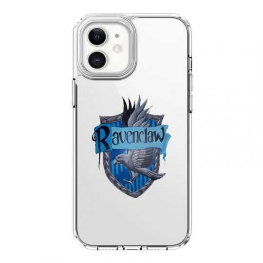 Coque Transparente Pour Iphone 12 Mini Harry Potter Ravenclaw
