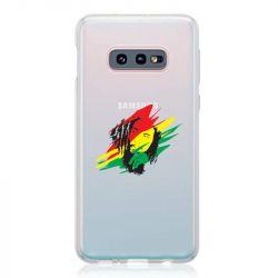 Coque Transparente Pour Samsung Galaxy S10e Bob Marley Graf