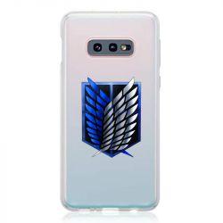 Coque Transparente Pour Samsung Galaxy S10e Attaque Titan Logo