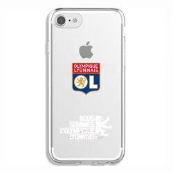 Coque Transparente Pour Iphone 6 / 6s Olympique Lyonnais Double Face