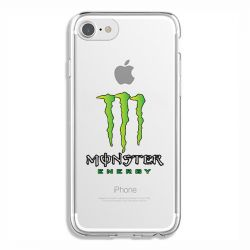 Coque Transparente Pour Iphone 6 / 6s Monster Energy