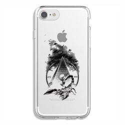 Coque Transparente Pour Iphone 6 / 6s Scorpion