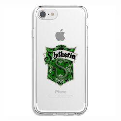 Coque Transparente Pour Iphone 6 / 6s Harry Potter Slytherin