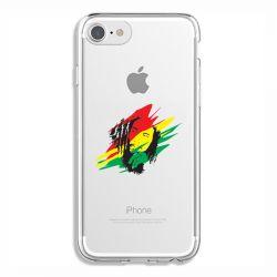 Coque Transparente Pour Iphone 6 / 6s Bob Marley Graf