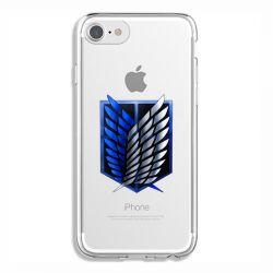Coque Transparente Pour Iphone 6 / 6s Attaque Titan Logo